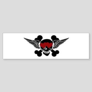 SkullLove Sticker (Bumper)