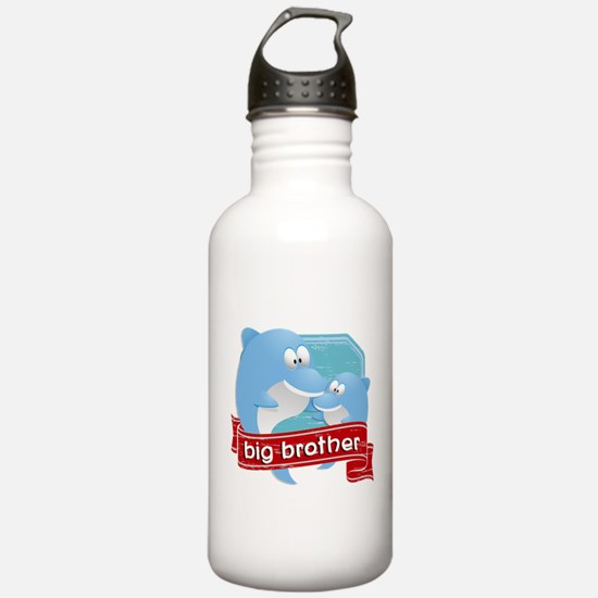 Big Brother Dolphin Water Bottle
