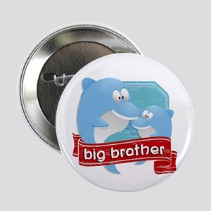 """Big Brother Dolphin 2.25"""" Button"""