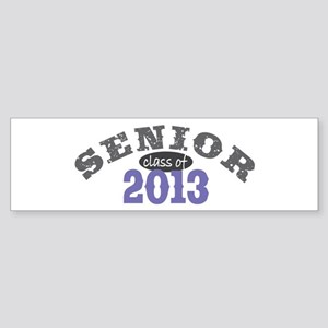 Senior Class of 2013 Sticker (Bumper)