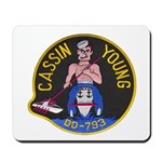 USS CASSIN YOUNG Mousepad