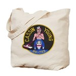 USS CASSIN YOUNG Tote Bag