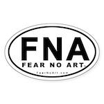 Fear No Art Euro Sticker (10 pk)