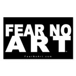FNA Sticker 5x3 NEW Black (10 pack)