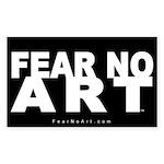 FNA Sticker 5x3 NEW Black (50 pack)