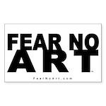 FNA Sticker 5x3 NEW White (10 pack)