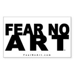 FNA Sticker 5x3 NEW White