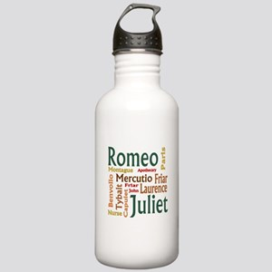 Romeo & Juliet Characters Stainless Water Bottle 1