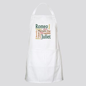 Romeo & Juliet Characters Apron