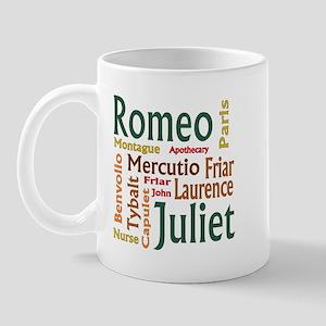 Romeo & Juliet Characters Mug