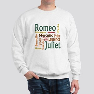 Romeo & Juliet Characters Sweatshirt