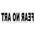 FNA Bumper Sticker REVERSE (WH - 50 pk)