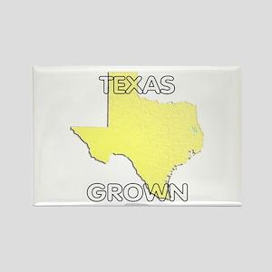 Texas grown Rectangle Magnet
