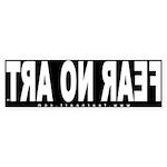 FNA Bumper Sticker REVERSE (BL - 50 pk)
