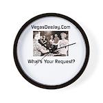 Vegasdeejay.com Dj Request Wall Clock