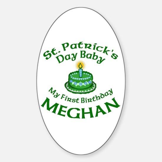 Custom Design for Meghan Sticker (Oval)