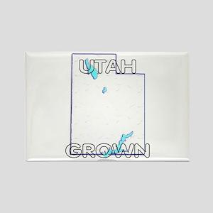 Utah grown Rectangle Magnet