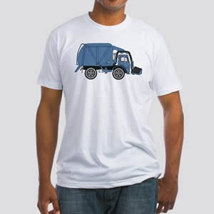 Garbage Truck Fitted T-Shirt