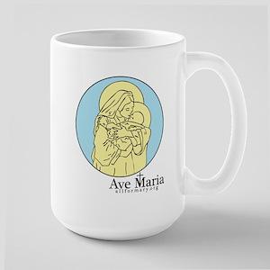 Marian Large Mug
