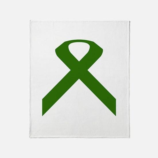 Ribbon Causes Throw Blanket
