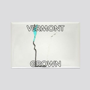 Vermont grown Rectangle Magnet