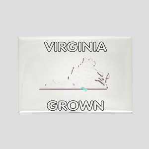 Virginia grown Rectangle Magnet