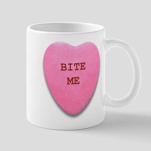 Bite Me Heart Mug