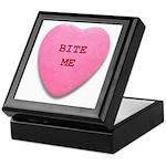 Bite Me Heart Keepsake Box