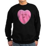 Bite Me Heart Sweatshirt (dark)