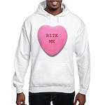 Bite Me Heart Hooded Sweatshirt