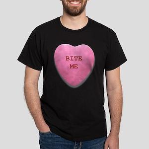 Bite Me Heart Dark T-Shirt
