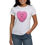 Bite Me Heart Women's T-Shirt