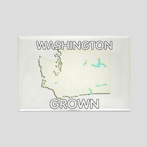 Washington grown Rectangle Magnet