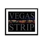 Vegas Strip at Night Framed Print 13x16od