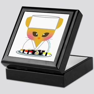 """Sushi Chef"" Keepsake Box"