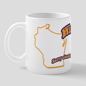 Vintage Wisconsin Mug