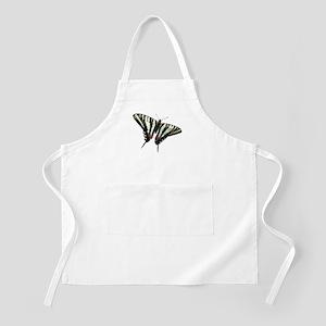 Zebra Swallowtail butterfly BBQ Apron