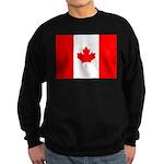 Canadian Flag Sweatshirt (dark)