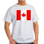 Canadian Flag Light T-Shirt