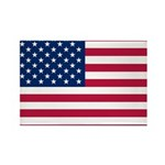US Flag Rectangle Magnet (100 pack)