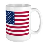 US Flag Large Mug