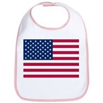 US Flag Bib