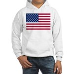 US Flag Hooded Sweatshirt