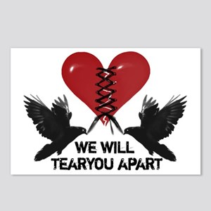 Tear you Apart Postcards (Package of 8)
