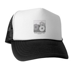 Donut and Bagel Trucker Hat