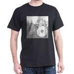 Donut and Bagel (No Text) Dark T-Shirt