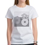 Donut and Bagel (No Text) Women's T-Shirt