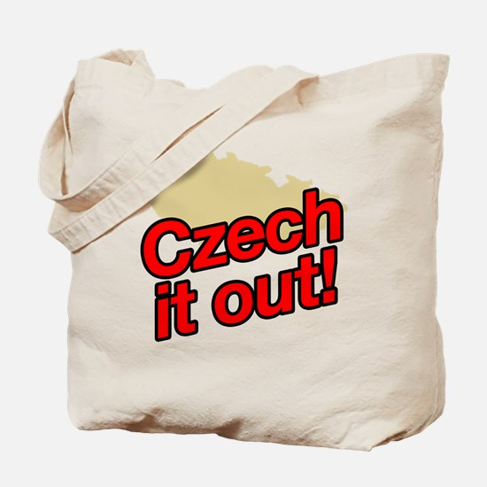 Czech it out! Tote Bag
