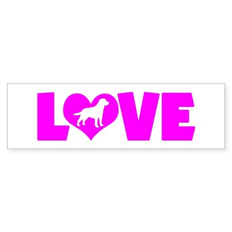 LOVE LAB Sticker (Bumper)