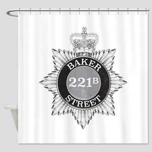 Baker Street Regulars Shower Curtain